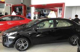 New Black Toyota Altis 1.6 E Manual 2019 for sale