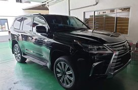 Black 2017 Lexus Lx 570 bulletproof levelb6 at 8000 km for sale