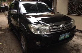 2nd Hand Toyota Fortuner 2010 at 109000 km for sale in Davao City