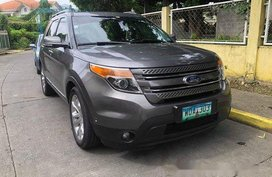 Sell Grey 2014 Ford Explorer in Pasig