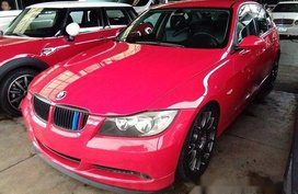 Red Bmw 320I 2007 Automatic Gasoline for sale in Quezon City