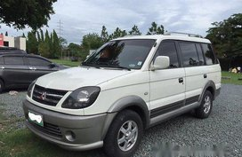 White Mitsubishi Adventure 2012 Manual Diesel for sale