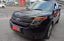 Black Ford Explorer 2014 at 41000 km for sale