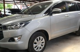 Silver Toyota Innova 2018 Manual Diesel for sale in Quezon City