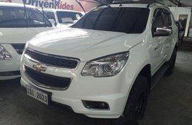 Selling White Chevrolet Trailblazer 2016 at 41228 km in Quezon City