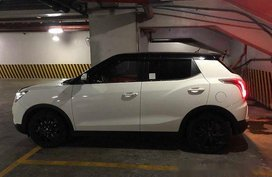 White Ssangyong Tivoli 2016 for sale in Manila