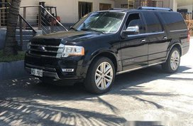 Black Ford Expedition 2016 for sale Automatic