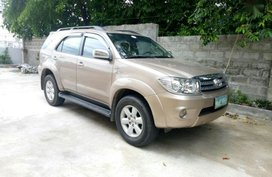 Selling 2nd Hand Toyota Fortuner 2008 at 80000 km in Urdaneta