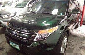 Black Ford Explorer 2013 for sale in Makati