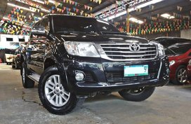Sell Black 2013 Toyota Hilux Truck in Quezon City