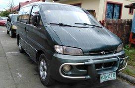 Sell Green 1999 Hyundai Starex Van in Butuan