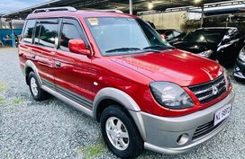 Red 2015 Mitsubishi Adventure at 45000 km for sale