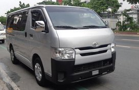 Toyota Hiace 2016 Manual Diesel for sale in Quezon City