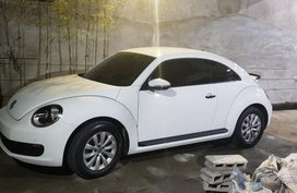 Selling Volkswagen Beetle 2016 Manual Gasoline in Malabon