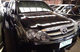 Selling Black Toyota Fortuner 2008 Automatic Gasoline at 79039 km in Antipolo