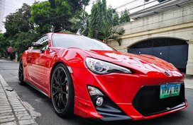Red 2013 Toyota 86 Coupe at 9800 km for sale