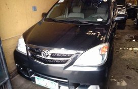 Black Toyota Avanza 2010 at 129000 km for sale in Antipolo