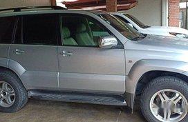 Sell Silver 2004 Toyota Land Cruiser Prado Automatic Gasoline at 153000 km in San Jose