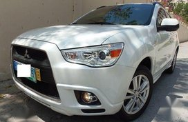 Selling 2nd Hand Mitsubishi Asx 2012 Automatic Gasoline at 40000 km in Quezon City