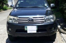 2nd Hand Toyota Fortuner 2010 Automatic Diesel for sale in Manila