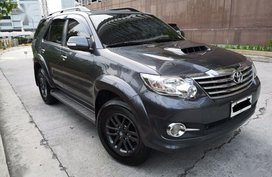 Toyota Fortuner 2016 Manual Diesel for sale in Quezon City