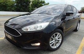 Sell Black 2016 Ford Focus Hatchback in Quezon City