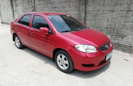 Red 2005 Toyota Vios for sale in Valenzuela