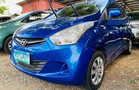 Blue 2014 Hyundai Eon Hatchback for sale in Isabela