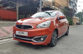2nd Hand Mitsubishi Mirage 2017 Manual Gasoline for sale in Quezon City