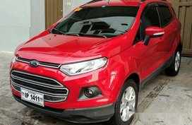 Selling Red Ford Ecosport 2017 at 19000 km in Quezon City