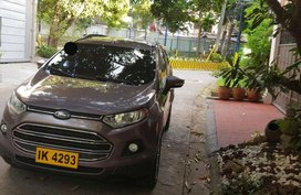 Selling Ford Ecosport 2016 Automatic Gasoline in Quezon City