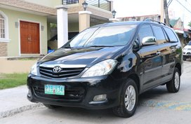 Black 2011 Toyota Innova Manual Gasoline for sale