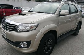 Used 2015 Toyota Fortuner for sale in Metro Manila