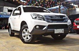 White 2015 Isuzu Mu-X Diesel Manual for sale