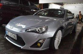 Silver Toyota 86 2016 for sale in Manila