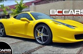 2013 Ferrari 458 for sale in Quezon City