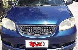 Blue Toyota Vios 2006 Manual Gasoline for sale in Tarlac City
