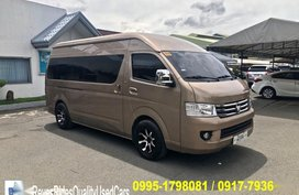 Gold Foton View Traveller 2017 for sale in Manual