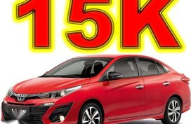 Brand New Toyota Vios 2019 Manual Gasoline for sale in Pasay