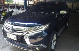 Sell Blue 2017 Mitsubishi Montero Sport at 26872 km in Marikina