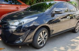 Sell Black 2018 Toyota Vios at 10000 km in Quezon City