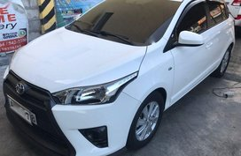 2nd Hand Toyota Yaris 2016 Automatic Gasoline for sale in Taguig