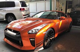 Sell Orange 2017 Nissan Gt-R at 1500 km in Manila