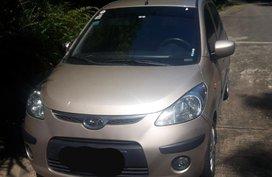 Selling Hyundai I10 2010 at 70000 km in Muntinlupa