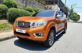 Orange Nissan Frontier navara 2018 Automatic Diesel for sale