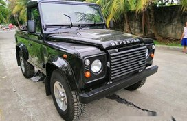 Black Land Rover Defender 2019 for sale Manual