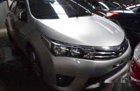Selling Silver Toyota Corolla Altis 2016 at 8000 km