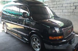 Black Gmc Savana 2011 Automatic Gasoline for sale in Manila