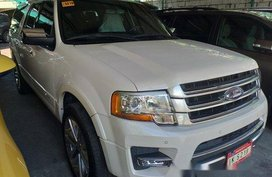White Ford Expedition 2016 Automatic Gasoline for sale in Manila