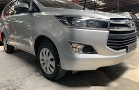 Selling Silver Toyota Innova 2018 Manual Diesel in Quezon City